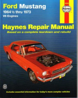 1964-1973 Ford Mustang V8 Haynes Auto Repair Manual