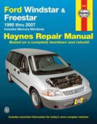 Haynes Ford Windstar And Freestar Mini-Van 1995-2007 Auto Repair Manual