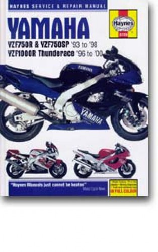 Haynes Yamaha YZF750R YZF750SP 1993-2000 Repair Manual