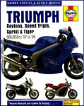 Haynes Triumph Daytona Speed Triple Sprint Tiger Fuel Injected Triples 1997-2005 Repair Manual