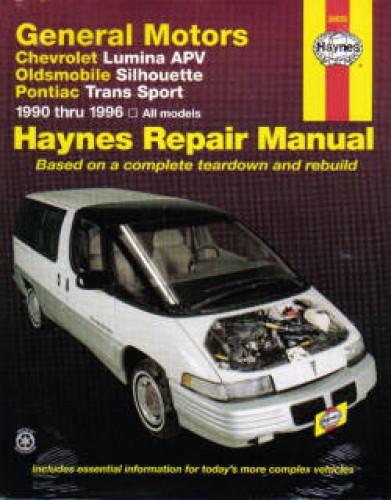 haynes gm chevrolet lumina apv oldsmobile silhouette pontiac trans rh repairmanual com 2003 oldsmobile silhouette service manual 2000 oldsmobile silhouette repair manual pdf