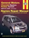 Haynes Chevrolet Equinox And Pontiac Torrent 2005-2009 Repair Manual