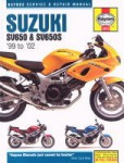 Haynes Suzuki SV650 1999-2008 Motorcycle Service Repair Manual