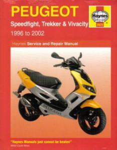 Haynes Peugeot Speedfight Trekker Vivacity 1996-2008 Repair Manual