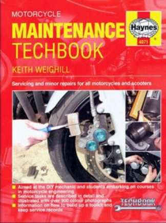 Haynes Motorcycle Maintenance Hardcover Techbook