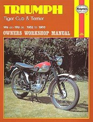 Haynes Triumph Tiger Cub Terrier 1952-1968 Owners Workshop Manual