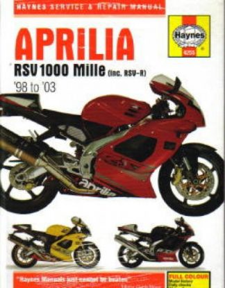 Haynes Aprilia RSV1000 Mille RSV-R 1998-2003 Repair Manual