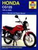 Haynes Honda CG125 1976 - 2007 Shop Manual