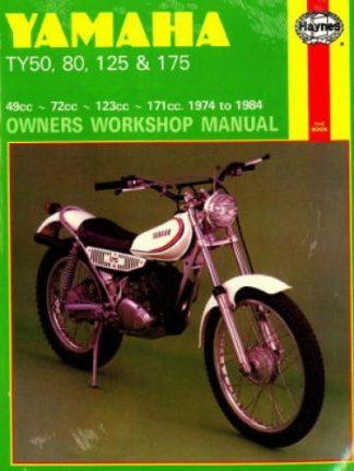 Haynes Yamaha TY50 80 125 175 1974 -1984 Trials Motorcycle Workshop Manual