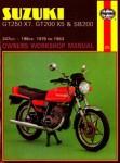Haynes Suzuki GT250X7 GT200X5 SB200 Twins 1978-1983 Owners Workshop Manual