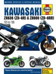Haynes Kawasaki 2003-2006 ZX636 ZX-6R ZX600 ZX-6RR Repair Manual