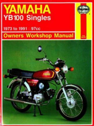 Haynes Yamaha YB100 Singles 1973-1991 Owners Workshop Manual