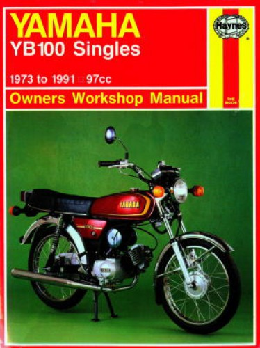 haynes yamaha yb100 singles 1973 1991 motorcycle owners. Black Bedroom Furniture Sets. Home Design Ideas