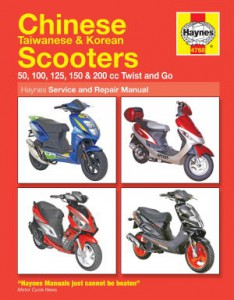Haynes Chinese Taiwanese Korean Scooter Repair Manual 1