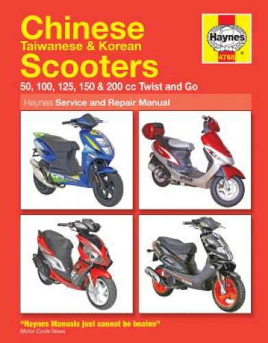 haynes chinese taiwanese korean scooter repair manual rh repairmanual com