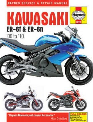 Haynes Kawasaki EX650 And ER650 2006-2010 Repair Manual