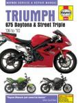 Haynes Triumph 675 Daytona And Street Triple 2006-2010 Repair Manual