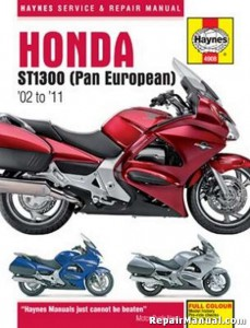 Haynes Honda ST1300 Pan European 2002-2011 Repair Manual