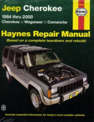 Haynes Jeep Cherokee Wagoneer Comanche 1984-2001 Repair Manual