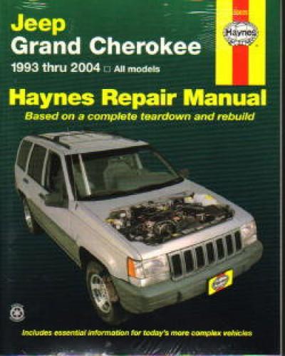 Haynes Jeep Grand Cherokee 1993 2004 Repair Manual