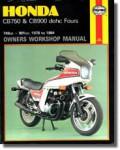 Haynes Honda CB750 900 DOHC Fours 1979-1984 Repair Manual