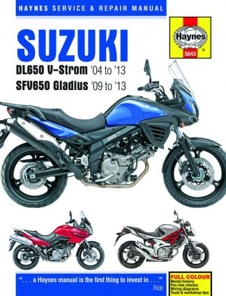 USED 2017 Suzuki DL650A Motorcycle Service Manual