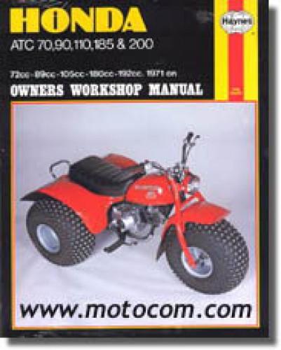 free honda atc 110 service manual download