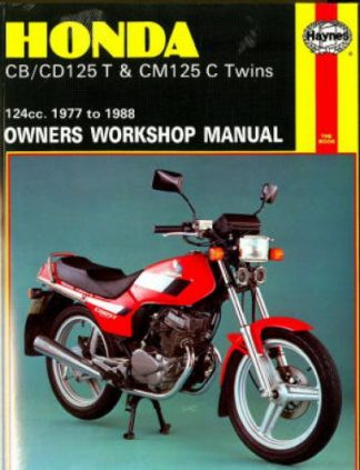 Haynes Honda CB CD125T CM125C Twins 1977-1988 Owners Workshop Manual