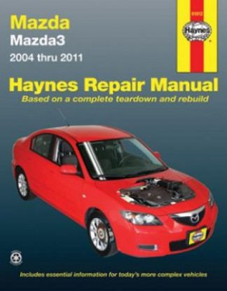 Haynes Mazda 3 2004-2011 Auto Repair Manual