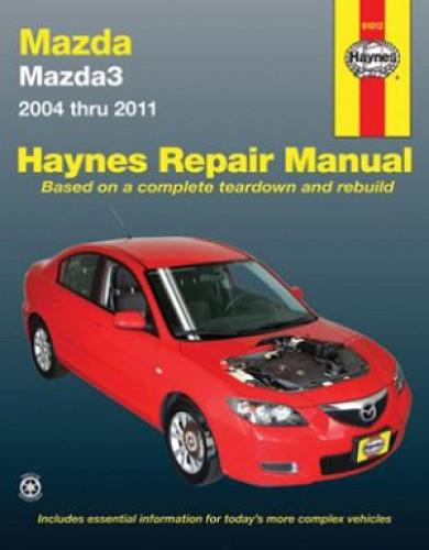 Haynes Mazda 3 2004-2011 Auto Repair Manual