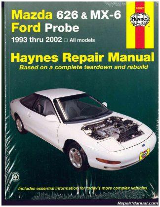 mazda automobile manuals repair manuals online rh repairmanual com 1989 Mazda Protege 2001 Mazda Protege Problems