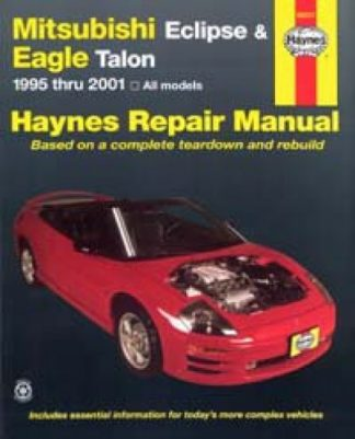 Haynes Mitsubishi Eclipse Eagle Talon 1995-2005 Auto Repair Manual
