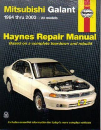 Haynes Mitsubishi Galant 1994-2010 Auto Repair Manual