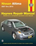 Haynes Nissan Altima 2007-2010 Auto Repair Manual
