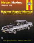 Haynes Maxima 1985-1992 Auto Repair Manual