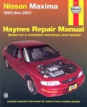 Haynes Nissan Maxima 1993-2001 Auto Repair Manual