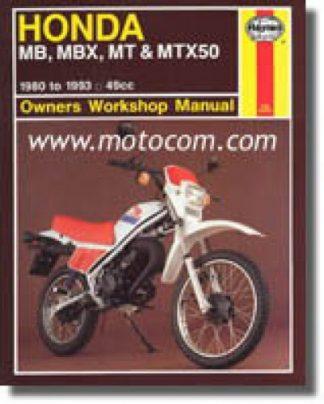 Haynes Honda MB5 1980-1993 Repair Manual