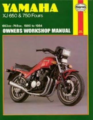 Yamaha XJ650 and XJ750 1980-1984 Motorcycle Service Repair Manual