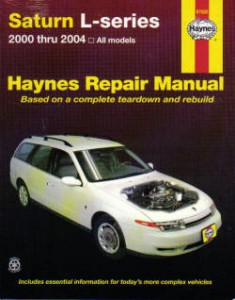 Haynes Saturn L-Series 2000-2004 Auto Repair Manual