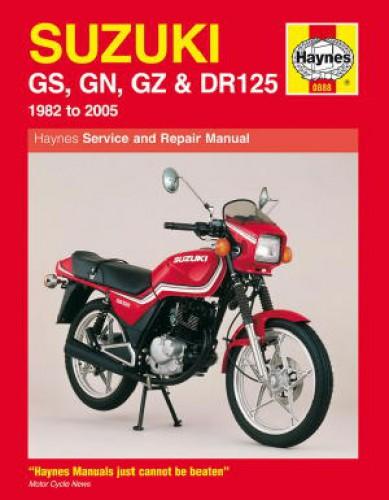 Category/suzuki >> Suzuki GS125 GN125 GZ125 DR125 1982-2005 Motorcycle Repair