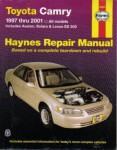 Haynes Toyota Camry Avalon Solara Lexus ES 300 1997-2001 Auto Repair Manual