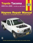 Haynes 2005-2009 Toyota Tacoma Repair Manual