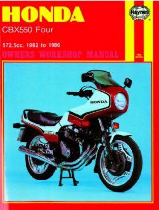 Haynes Honda CBX550 Four 1982-1986 Owners Workshop Manual