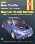 Volkswagon VW New Beetle 1998-2010 Haynes Repair Manual
