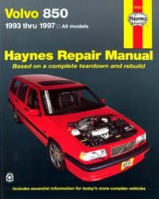 Haynes Volvo 850 1993-1997 Auto Repair Manual