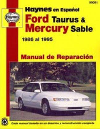 Ford Taurus Mercury Sable 1986-1995 Manual de Reparación Haynes