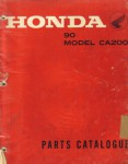 Honda CA200 Parts Manual