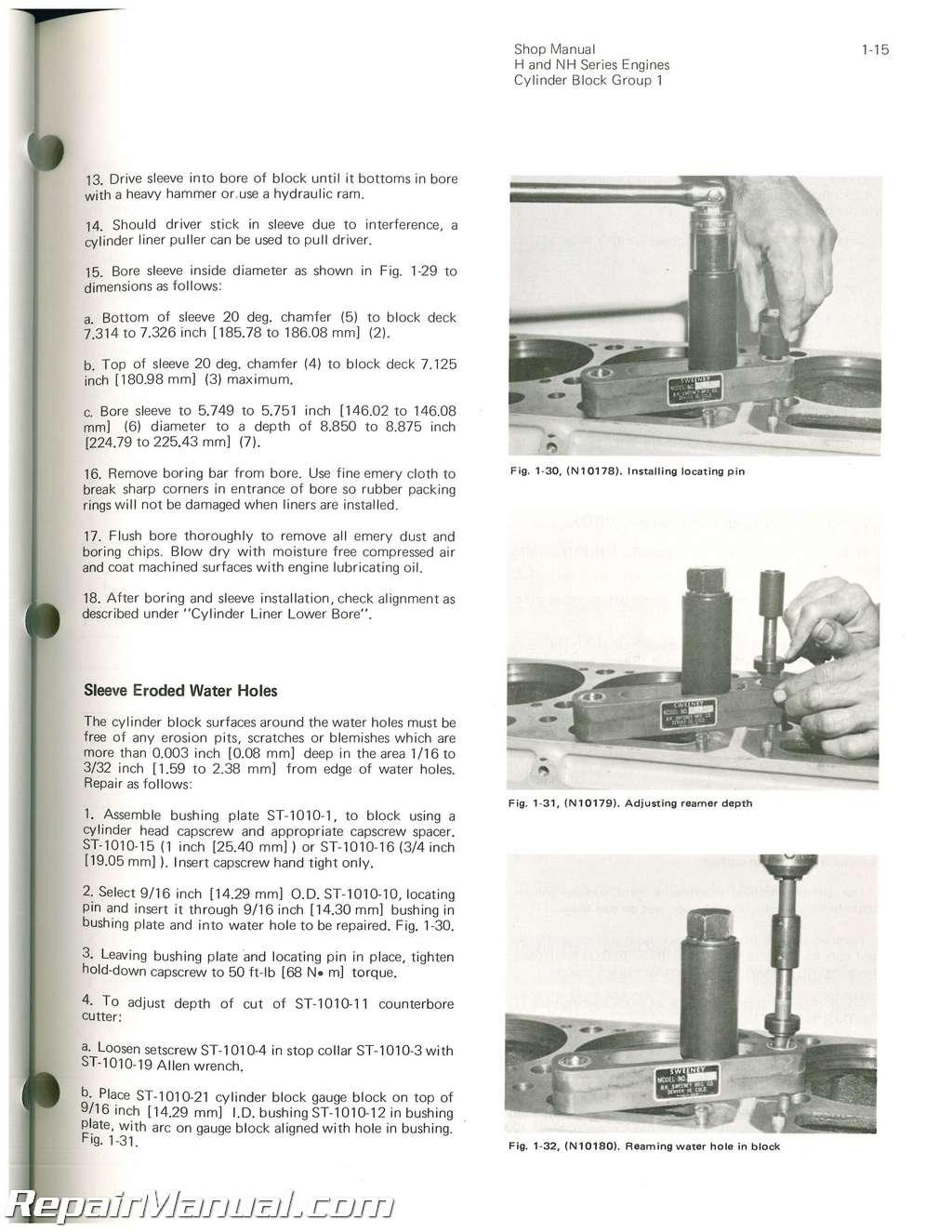 Hough Tractor Manuals