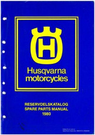 Husqvarna 1980 125 240 250 390 Spare Parts Manual