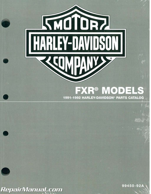 Harley Davidson Fxr Wiring Diagram 1992. . Wiring Diagram on